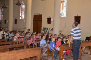 Catéchisme à l'Eglise