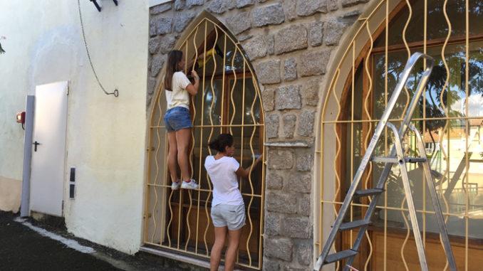 Jeanne et Mariam en pleine action !!